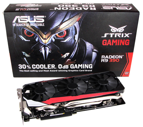 ASUS STRIX R9 390 OC GAMING im Test