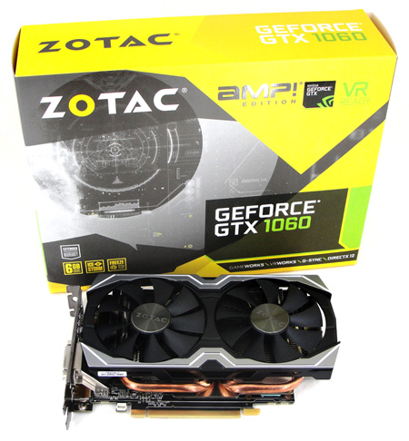 GP106: ZOTAC GeForce GTX 1060 AMP! im Test