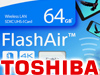 Drahtlos: Toshiba FlashAir W-04 64 GB