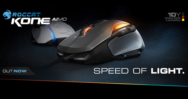 Roccat Kone AIMO Gamer-Maus Review