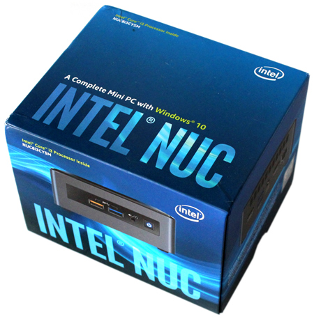 Crimson Canyon: Intel NUC Kit NUC8i3CYSM