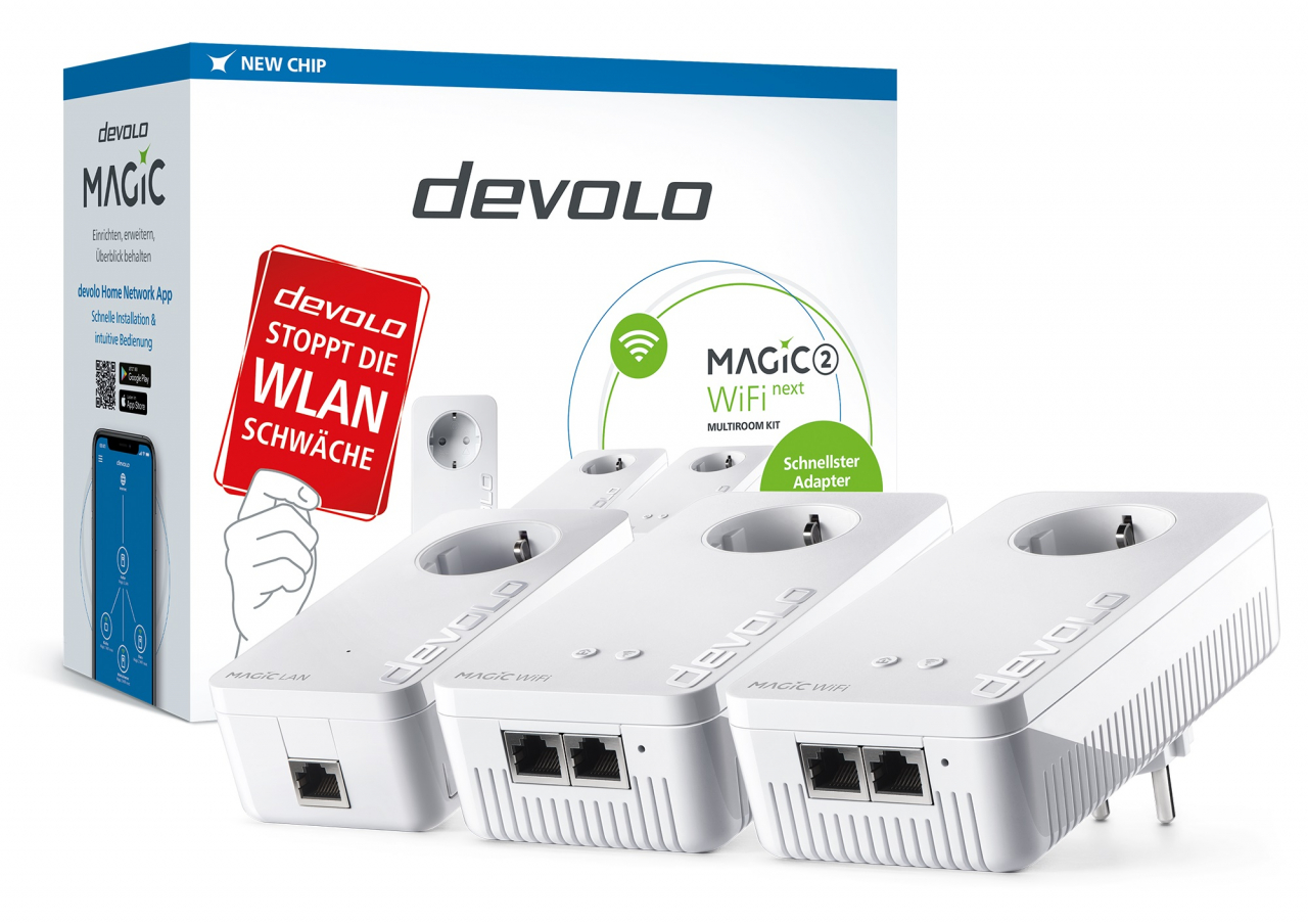 devolo Magic 2 WiFi next Multiroom Kit