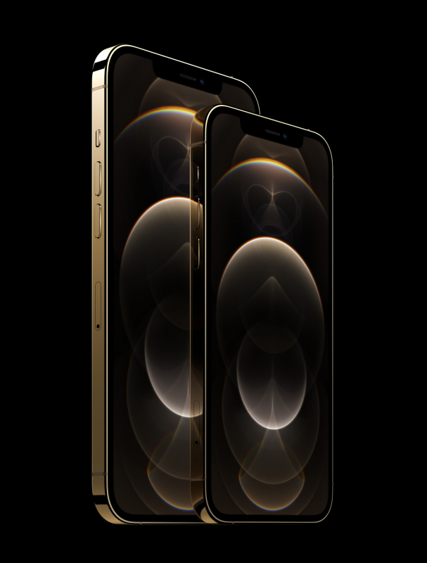 iPhone 12 Pro in Gold (Bildquelle: Apple)